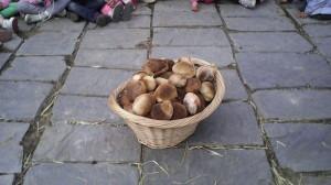 il pane fatto dai bambini della scuola materna